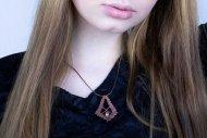 Sylvie (náhrdelník bronzový)