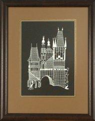 Obrázek Praha II (rám, sklo)
