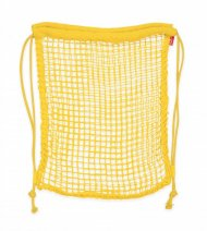 Batůžková eko síťka - žlutá