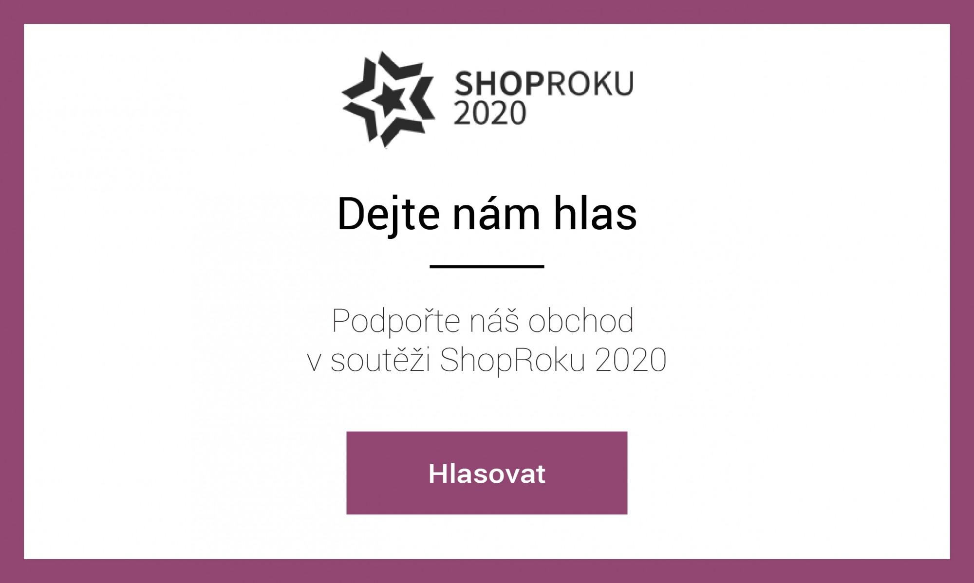 Hlasujte pro nás v soutěži Shoproku