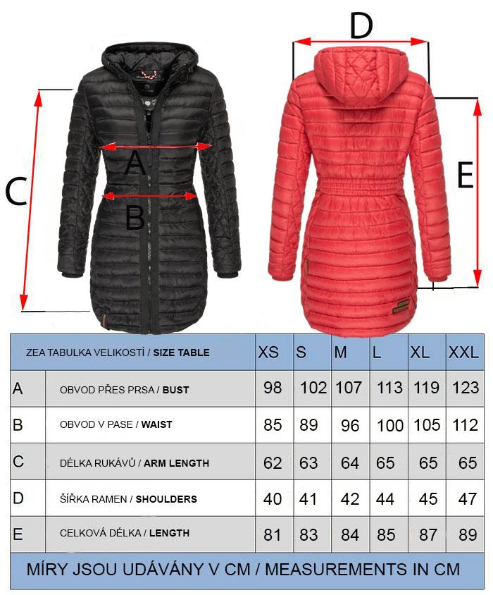 Dámská zimní bunda ZEA Navahoo - NAVY