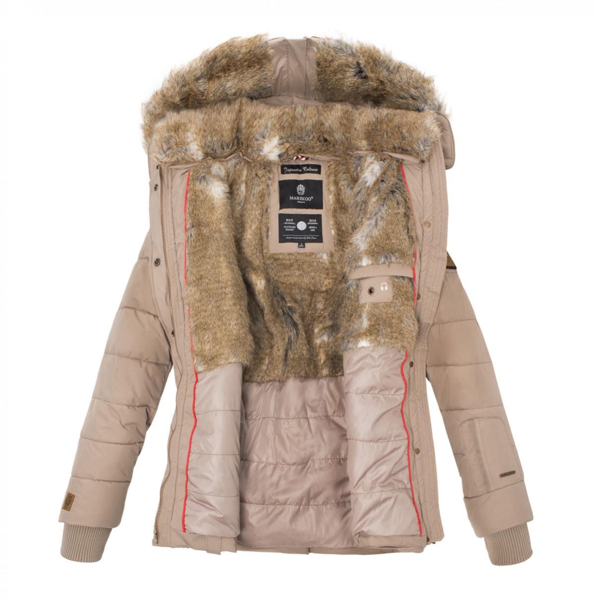 Dámská zimní bunda NEKOO Marikoo - RED