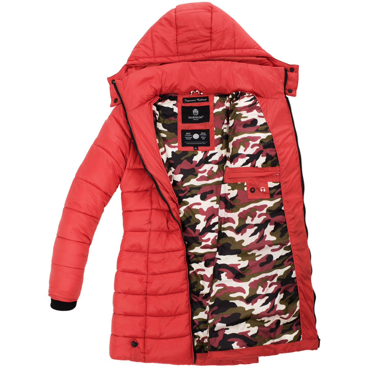 Zimní bunda Abendsternchen Marikoo - ROSE