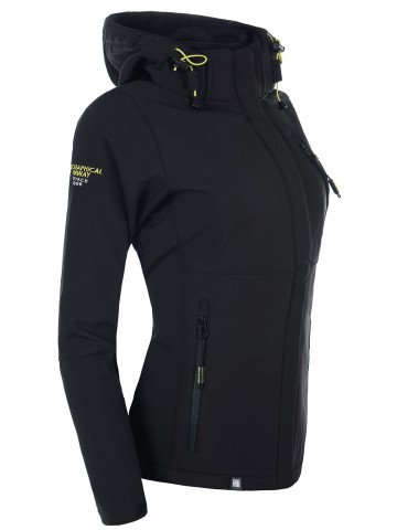 Softshell bunda Tehouda GEOGRAPHICAL NORWAY - BLACK - M