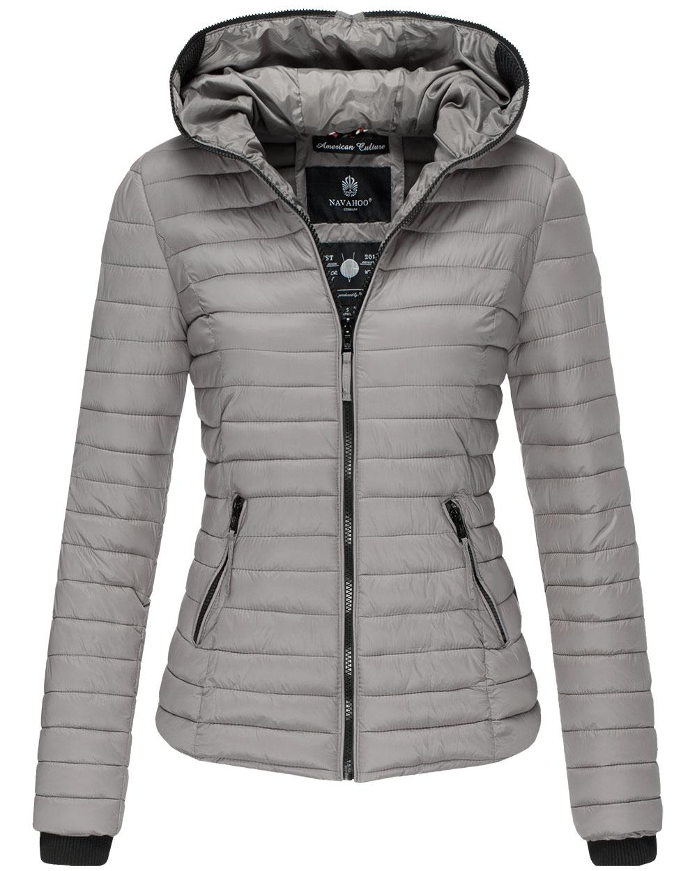 Podzimní dámská bunda Kimuk Navahoo - Grey