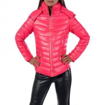 Zimní bunda 7874 - růžová - 2XL