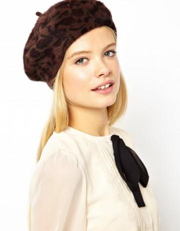 Čepice - tygří baret pro dámy