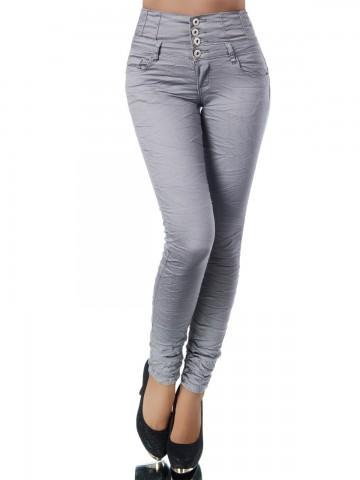 Pantaloni damă 9408 - GREY - S