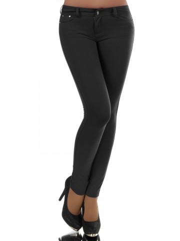 Pantaloni damă 8595 - BLACK - M