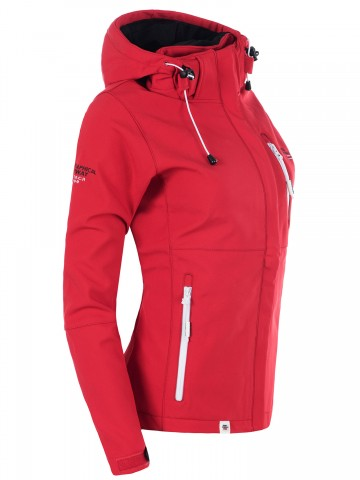 Softshell bunda Tehouda GEOGRAPHICAL NORWAY - RED - L