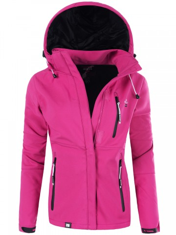 Softshell bunda Tehouda GEOGRAPHICAL NORWAY - PINK - L