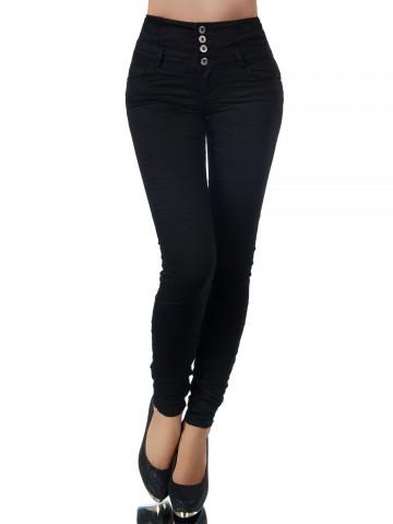 Pantaloni damă 9408 - BLACK - XS