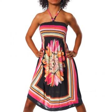 Letní šaty - F27 černá - XS/L