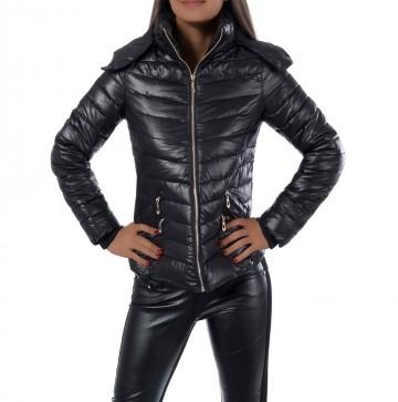 Zimní bunda 7874 - černá - XL