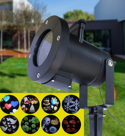 Vánoční laserový světelný systém pro osvětlení domu TA-1008