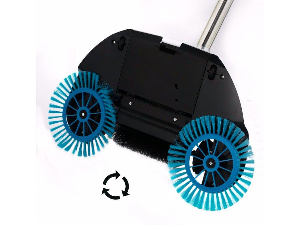 Podlahový mechanický zametač pro pevné podlahy - POUŽITÉ ZBOŽÍ