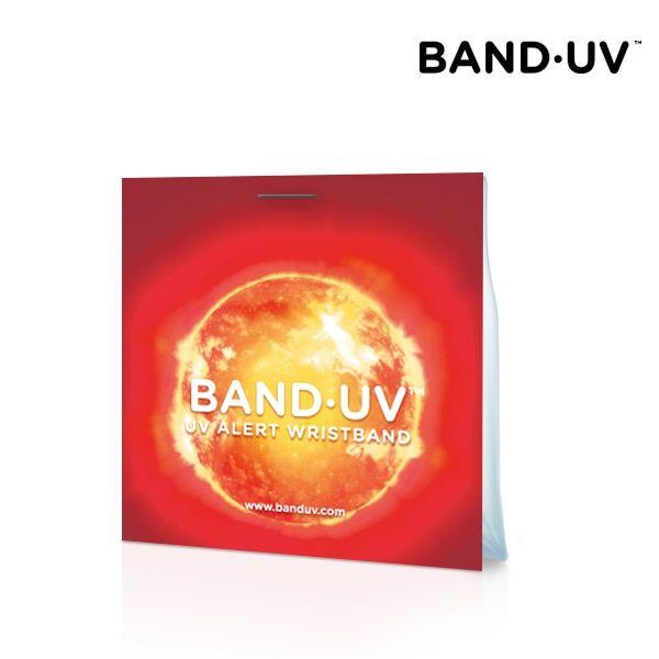 Band·UV - UVA sugárzás érzékelő karkötő