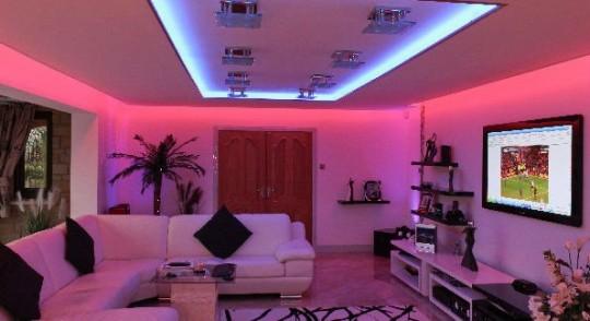 Barevný LED pás 3528 - 5 metrů - kompletní set