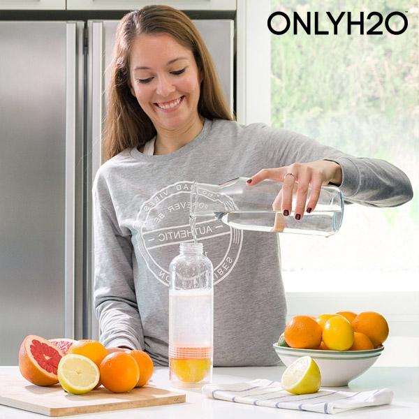 Láhev na citrusy s odšťavňovačem sensations juicer