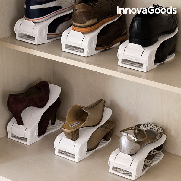 Organizator de pantofi reglabil InnovaGoods - 6 pereche