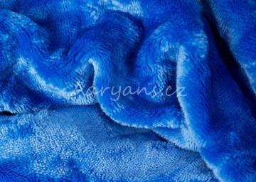 Prostěradlo mikroflanel 180x200 cm - modré