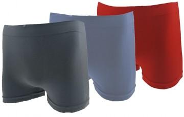 Varrás nélküli boxeralsó Bambusmax P001 - 3db, méret XL