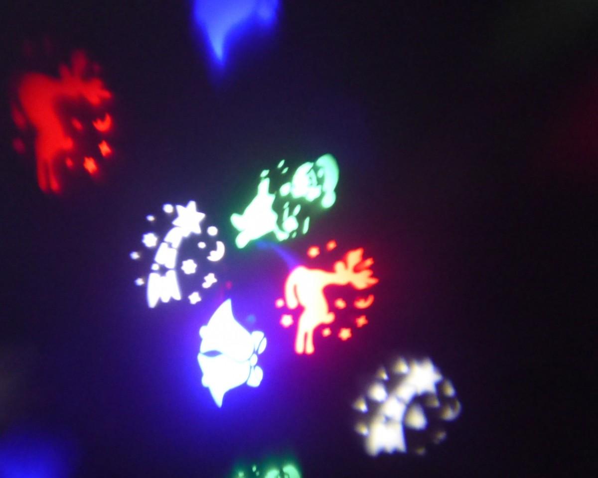 Vánoční laserový světelný systém pro osvětlení domu TA-1005