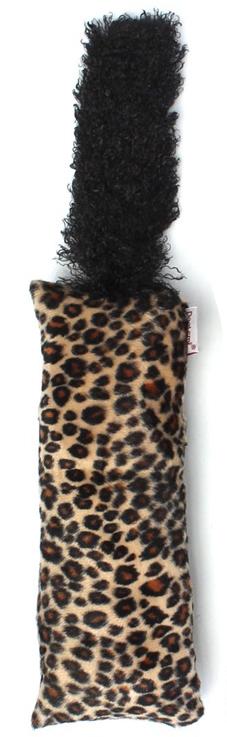 Jucărie interactivă coadă pentru pisici- desen leopard