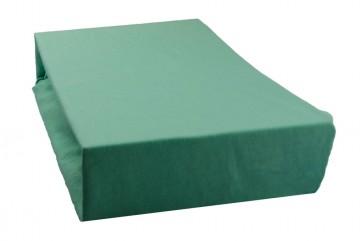 Cearșaf jersey 90x200 cm - verde mentolat