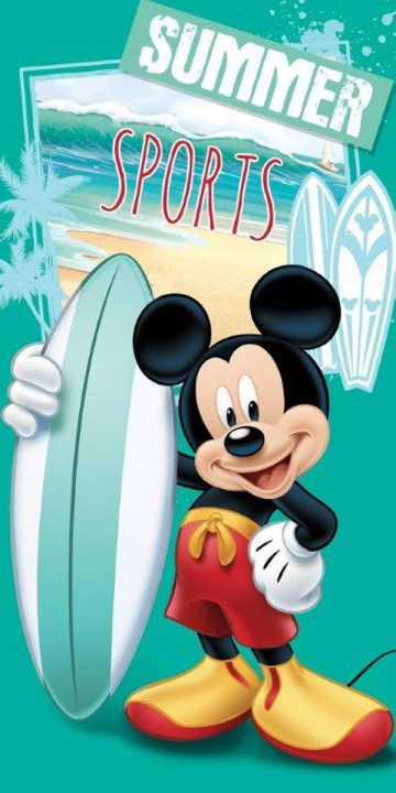 Osuška Mickey Summer sports 70/140