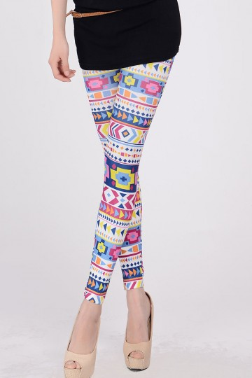 Női színes leggings