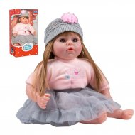 Slovensky mluvící a zpívající dětská panenka PlayTo Nina 46 cm