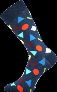 Ponožky Tvary - 1 pár, velikost 39-42