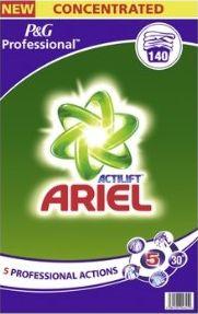 Ariel Professional mosópor fehér ruhákra 9,1 kg 140 Német behozatal