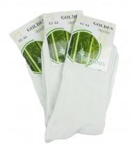 Klasické bambusové ponožky bílé