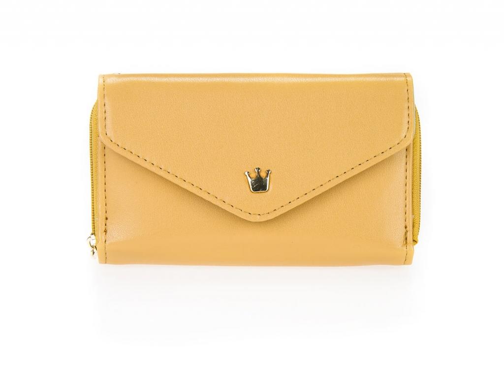 Dámska peňaženka - okrová [165]