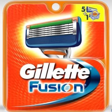 Gillette Fusion - náhradní hlavice, 2ks v balení