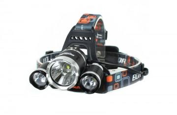 Lanternă frontală LED BORUIT RJ-3000