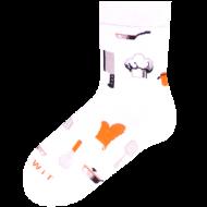 Ponožky - Kuchař - velikost 39-42