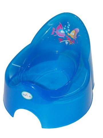 Dětský nočník Aqua modrý