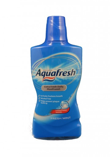 Aquafresh Extra Fresh Daily 500ml ústní voda