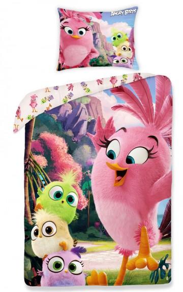 Povlečení Angry Birds ve filmu pink 140/200