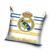 Povlak na polštářek Real Madrid proužky 40/40