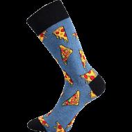 Ponožky - Pizza - velikost 43-46