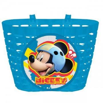 Kosár gyermekbiciklire Mickey Mouse