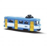 Kovová mini tramvaj Tatra T3 - DPO Ostrava, 8,5 cm