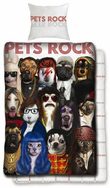 Povlečení Pets Rock 140/200