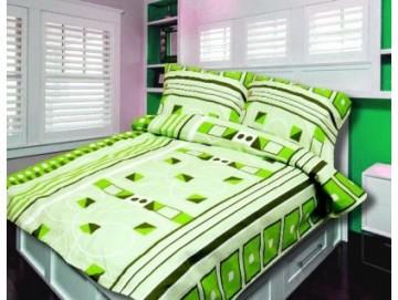 Lenjerie de pat din bumbac, pentru 2 persoane 140x200/70x90cm [PL0125]