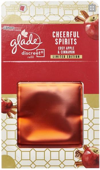 Glade Discreet náplň Cozy apple & cinnamon 8 g