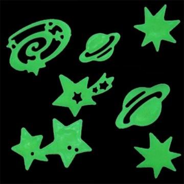 Fosforeskující hvězdy a planety, 24ks